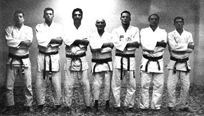 Left to Right: Rolker, Royce, Rorion, Helio, Relson, Rickson and Royler