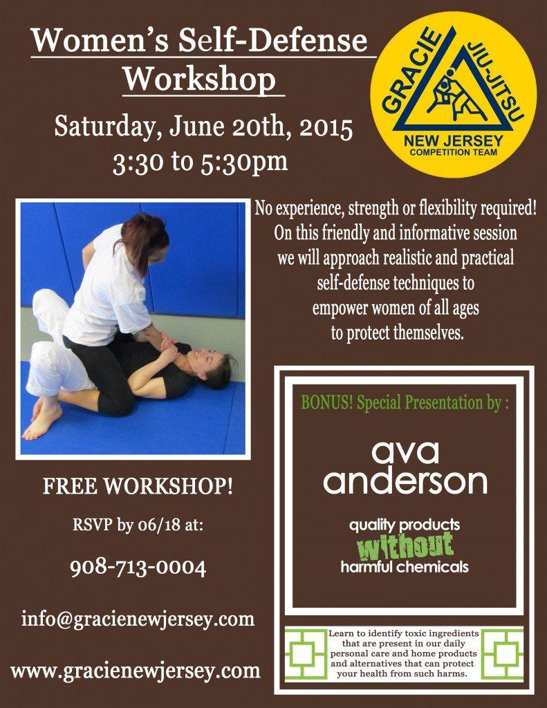 2015 - Women's Self-defense Workshop